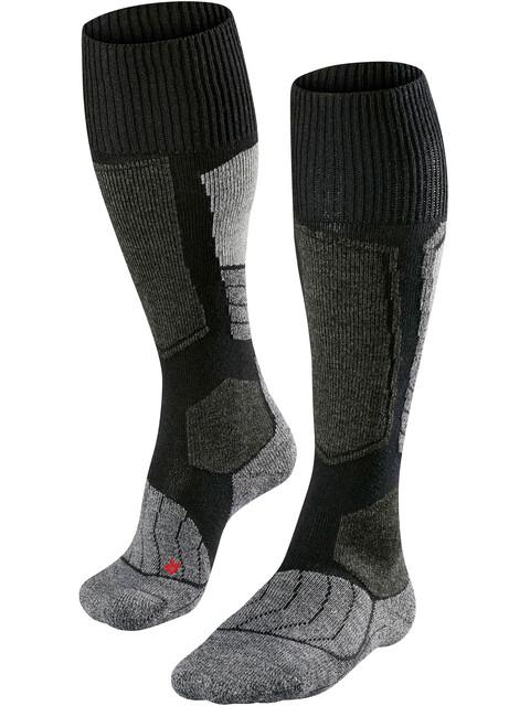 Falke SK1 - Chaussettes Homme - gris/noir